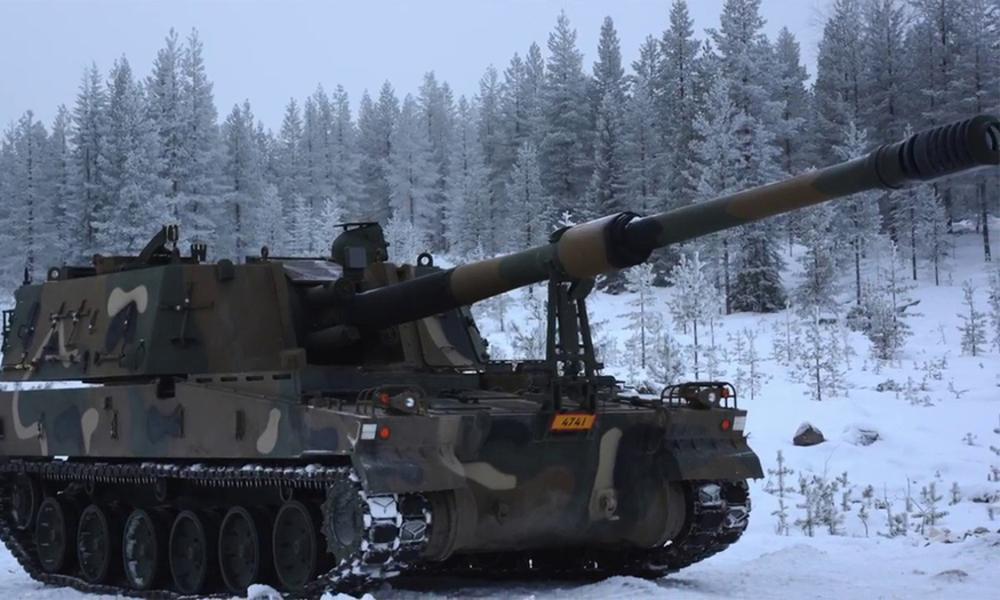 핀란드, 한화 'K9 자주포' 10문 추가 도입