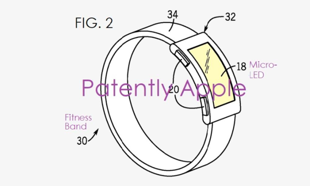 애플, 피트니스 밴드 시장 진입 '눈앞'…새 마이크로 LED 특허 취득