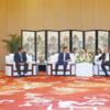 황득규 중국삼성 사장, '시진핑 측근' 中 산시성 당서기 회동
