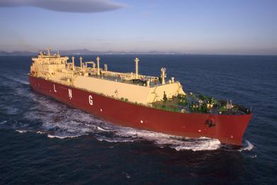 삼성중공업, 가스로그 LNG운반선 시운전 돌입
