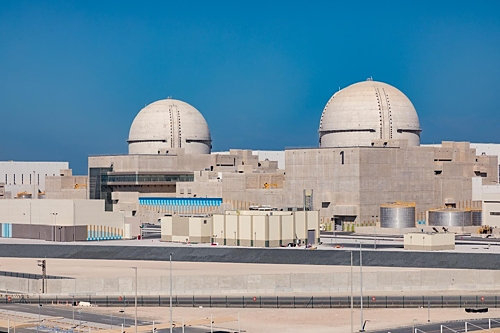 UAE 바라카 원전 전경. (사진=한국전력)