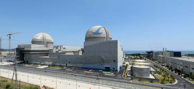 한국수력원자력 신고리 3·4호기 전경. (사진=한수원)