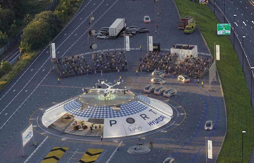 현대차그룹과 어반에어포트의 플라잉카 공항 '에어원'. (사진=어반에어포트)