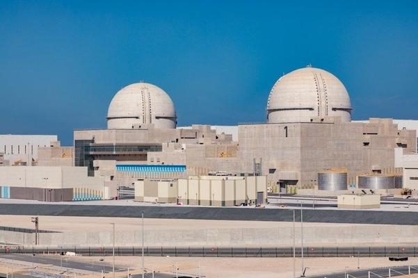 아랍에미리트(UAE)의 바라카 원전 전경. (사진=한국전력)